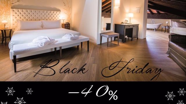 Special Black Friday: 40% discount for a stay in one of our wonderful Deluxe rooms