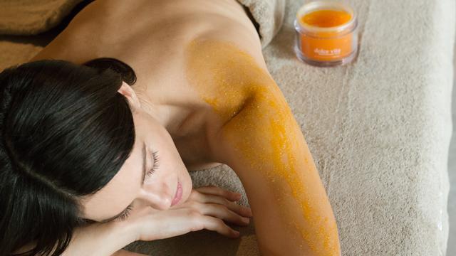 Scrub for glowing skin